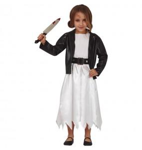 Fato de Noiva Chucky para menina
