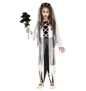 Disfarce Halloween Noiva Zombie meninas para uma festa Halloween
