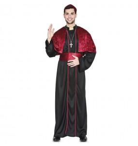 Fato de Bispo preto para homem