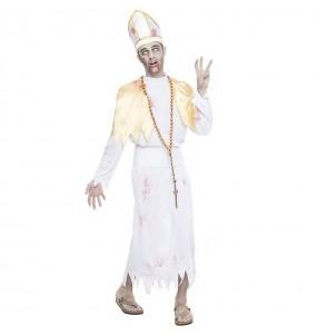 Fato de Bispo sangrento para homem