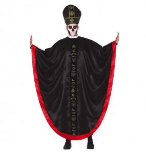 Fato de Bispo zombie para homem