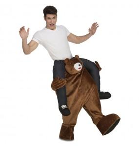 Disfarce Ride On Urso Teddy Bear adulto divertidíssimo para qualquer ocasião