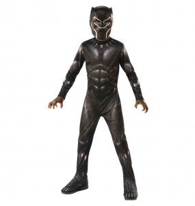 Disfarce Marvel Black Panther menino para deixar voar a sua imagina??o