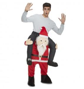 Disfarce Ride On Pai Natal adulto divertidíssimo para qualquer ocasião