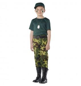 Fato de Paramilitar para menino