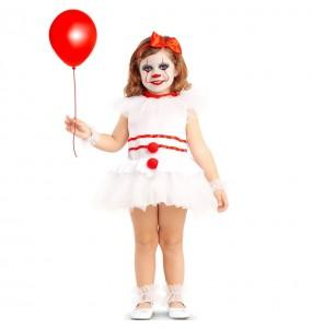 Fato de Palhaça diabólica IT para bebé