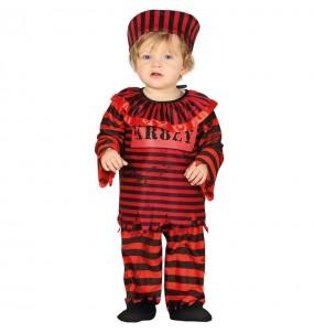 Disfarce Halloween Palhaço Pennywise com que o teu bebé ficará divertido