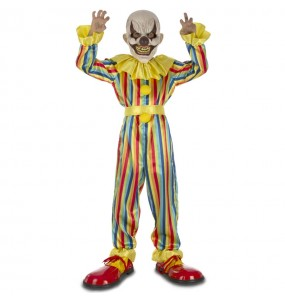 Disfarce Halloween Palhaço terror para meninos para uma festa do terror