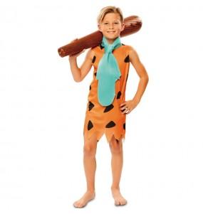 Disfarce Fred Flintstone menino para deixar voar a sua imaginação