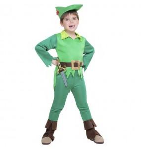 Fato de Peter Pan Terra do Nunca para menino