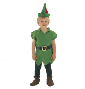 Disfarce Peter Pan Magic menino para deixar voar a sua imagina??o
