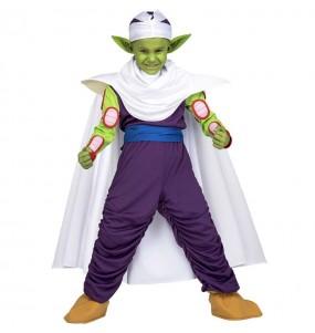 Disfarce Piccolo Dragon Ball menino para deixar voar a sua imagina??o