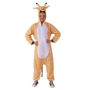 Disfarce japonês Pijama Girafa adulto divertidíssimo para qualquer ocasião
