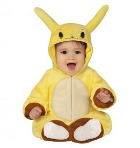 Disfarce Pikachu bebé para deixar voar a sua imaginação