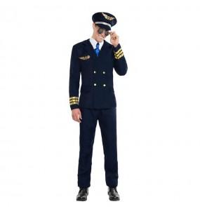 Disfarce Piloto Aéreo adulto divertidíssimo para qualquer ocasião