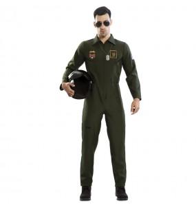 Disfarce Piloto de Caça Top Gun adulto divertidíssimo para qualquer ocasião