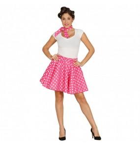 Disfarce original Pin Up anos 60 rosa mulher ao melhor preço