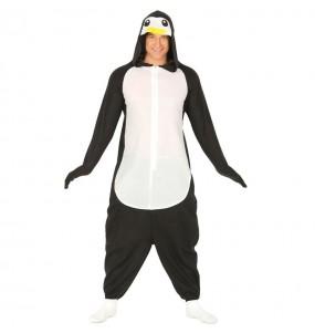 Disfarce japonês Pinguim Kigurumi adulto divertidíssimo para qualquer ocasião
