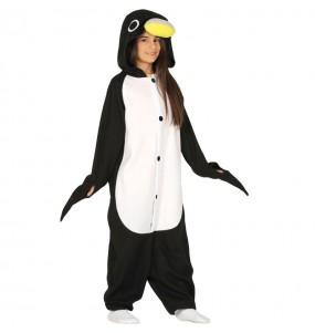 Disfarce japonês Pinguim Kigurumi criança para deixar voar a sua imaginação
