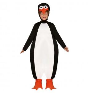 Disfarce Pinguim de Madagascar menino para deixar voar a sua imaginação