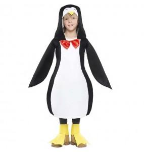 Fato de Pinguim-rei para menino
