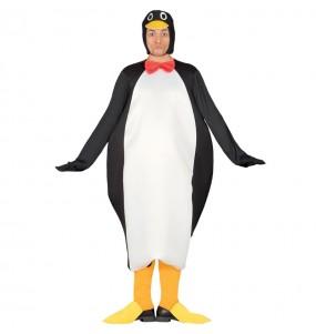 Disfarce Pinguim imperador adulto divertidíssimo para qualquer ocasião