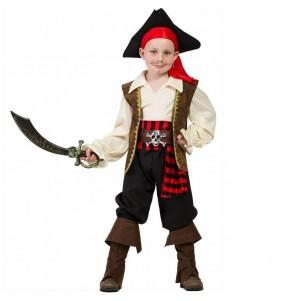 Fato de Pirata Alto-mar para menino