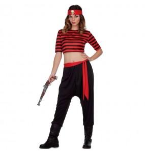 Disfarce original Pirata do Tesouro mulher ao melhor preço