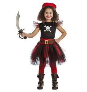 Fato de Pirata com tutu para menina