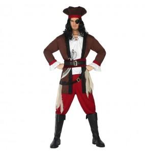 Disfarce Pirata do Caribe adulto divertidíssimo para qualquer ocasião