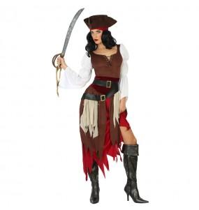 Disfarce original Pirata do Caribe mulher ao melhor preço