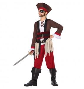 Disfarce Pirata do Caribe menino para deixar voar a sua imaginação