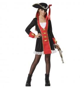 Fato de Pirata do oceano para menina