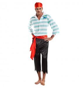 Disfarce Pirata alta mar adulto divertidíssimo para qualquer ocasião