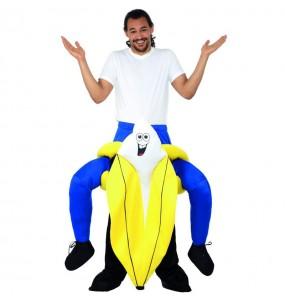 Disfarce Ride On Banana adulto divertidíssimo para qualquer ocasião