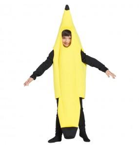 Fato de banana para menino