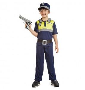 Fato de Polícia Municipal para menino