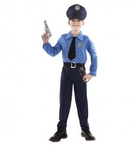 Fato de Polícia musculado para menino