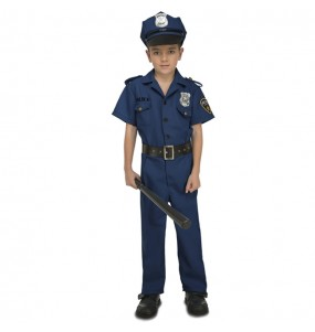 Disfarce Polícia Nova York menino para deixar voar a sua imaginação