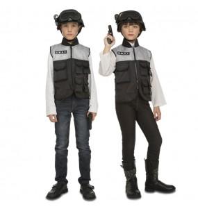 Disfarce Policial Swat com acessórios menino para deixar voar a sua imaginação