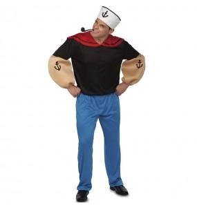 Fato de Marinheiro Popeye para homem
