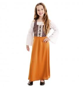 Fato de Estalajadeira Medieval para menina