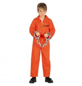 Fato de Prisioneiro Guantánamo para menino