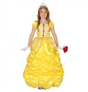 Disfarce Princesa A Bela menina para que eles sejam com quem sempre sonharam