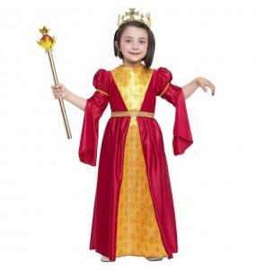 Fato de Princesa medieval Inés para menina