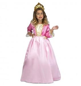 Disfarce princesa menina para que eles sejam com quem sempre sonharam