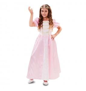 Disfarce Princesa Deluxe menina para que eles sejam com quem sempre sonharam