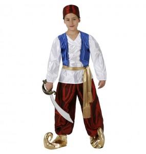 Disfarce Príncipe Aladim menino para deixar voar a sua imaginação