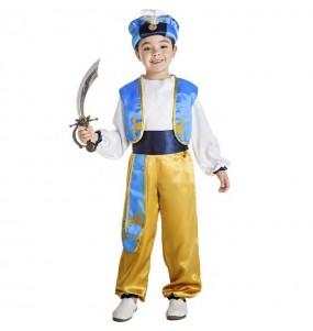 Fato de Príncipe Árabe Aladdin para menino