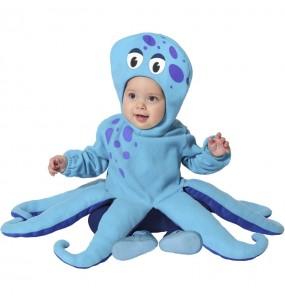 Fato de Polvo azul para bebé